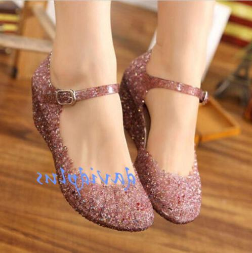 Womens High shoes Jelly Shoes