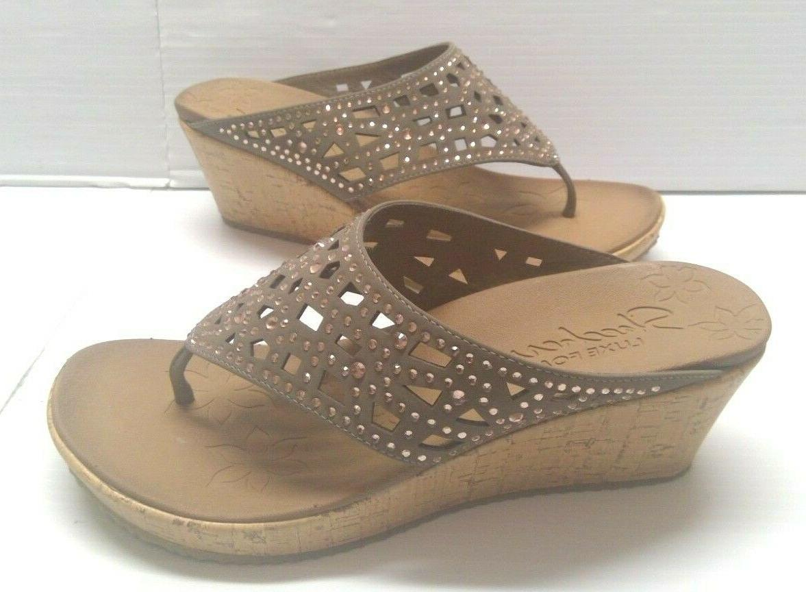 womens size 7 9 10 wedge sandals