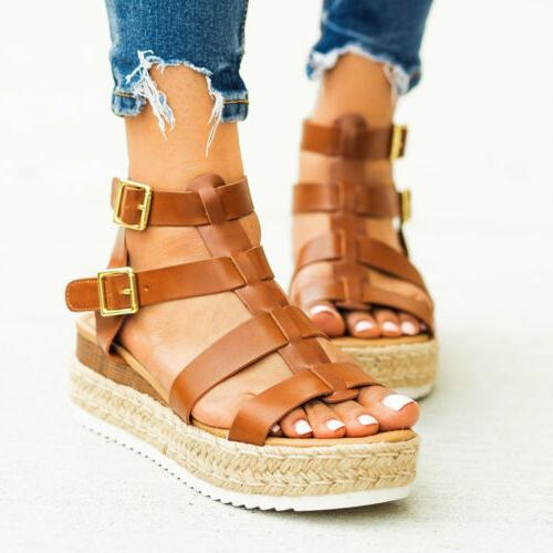Summer Wedges Shoes