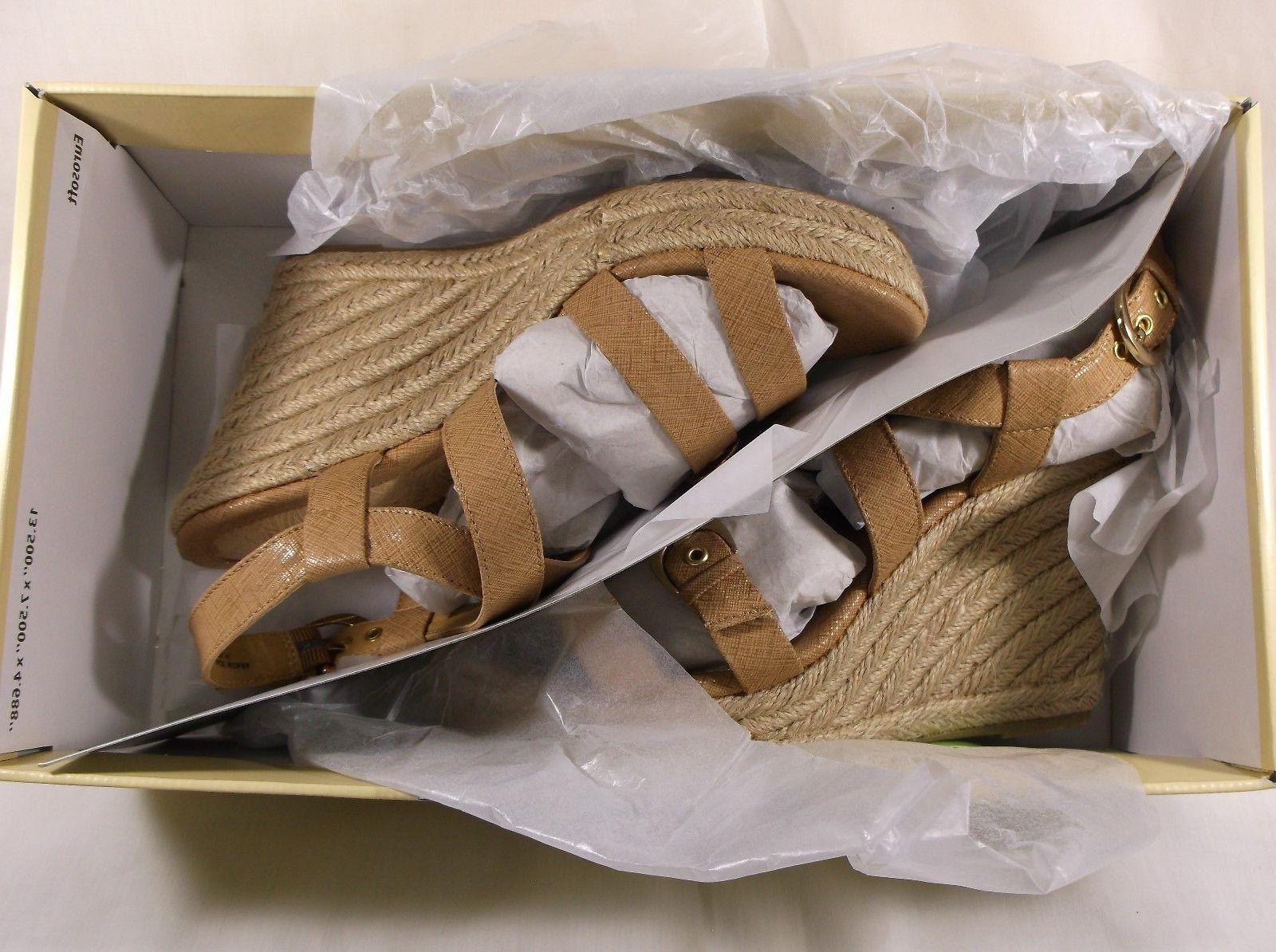 EUROSOFT wedge espadrille PERSIA Size M NEW in box