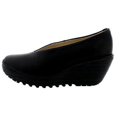 Womens London Yaz Mousse On Work Shoes 5-12