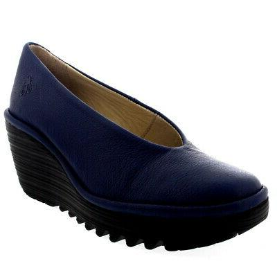 Mousse Smart On Wedge Heel Work Shoes