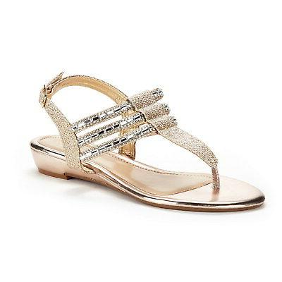 cali rumblers people wedge sandal