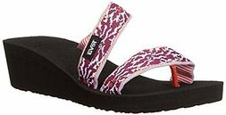 Women's Teva Mandalyn Loma Wedge Sandal, Size 10 M - Purple