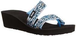 Women's Teva Mandalyn Loma Wedge Sandal, Size 9 M - Blue