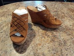 UGG Marta High Wedge Sandals - Women's Size 9.5