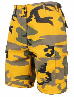 MENS YELLOW CAMO STINGER YELOW CAMO ROTHCO 65007 ARMY CARGO