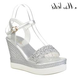 Ms.Noki high heels <font><b>sandals</b></font> women shinnin