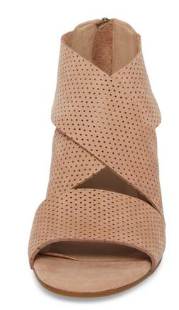 NEW EILEEN FISHER KES WEDGE SANDAL - WHEAT $225