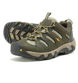 NEW Men's  Keen Koven Hiking Shoes Black/Green Size 10.5 M