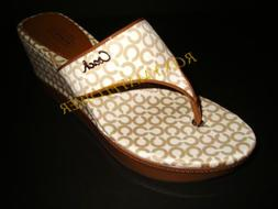 new with box a8530 felecia thong wedge