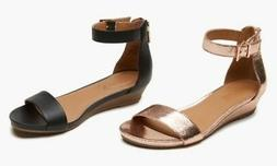 NEW Kenneth Cole Reaction Women's Demi-Wedge Sandals - Rose