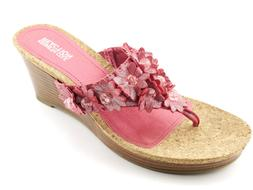 NEW Women's Kenneth Cole Reaction Mover N Shaker Pink Wedge