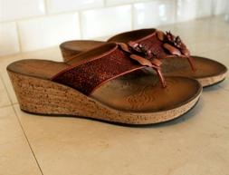new womens wedge sandals size 10