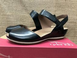 NIB Dansko 1520-021200 Women's Vera Burnished Black Sandal 4