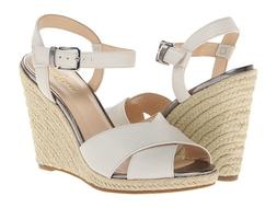 NIB WOMEN LEATHER Cole Haan Hart Wedge IVORY/OFF WHITE 10.5