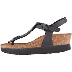 papillio ashley sandal iridescent black