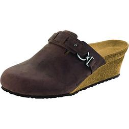 papillio dana clog brown oiled