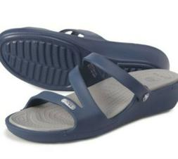 Crocs Patricia Wedge Sandals, Size 10, Brand New!