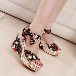 Plus Size Pu Leather Summer Flat Sandals Flip Flop Casual Be