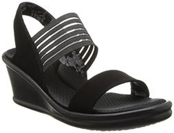 Skechers Women's Rumblers Sci-Fi Wedge Sandals  - 9.0 M