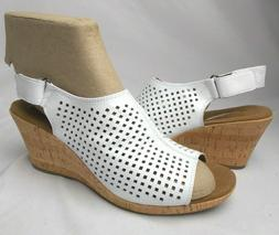 Shoes Women's Briah Perf Sling Wedge Sandal Rockport Color W