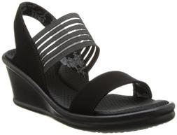 Skechers Cali Women's rumbler Sci-Fi Wedge Sandal