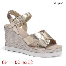 Slides Platform <font><b>Sandals</b></font> Women Peep Toe S