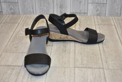 Lifestride- Tanglo Wedge Sandals, Women's Size 10 W, Black
