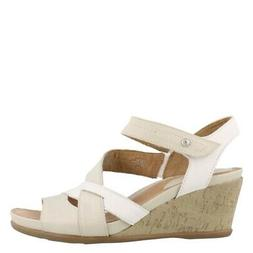 Earth Thistle Wedge Heel Sandals Clothing, Shoes & Jewelry S