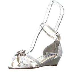 Touch Ups Tillie Ankle Strap Wedge Sandals, White