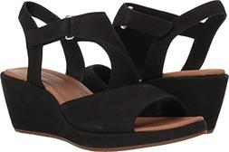 5c5a27c5a CLARKS Womens Un Plaza Sling Wedge Sandal