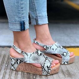 us women wedge high heel espadrilles sandals