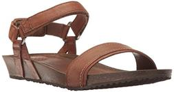 Teva Women's W Ysidro Stitch Sandal, Brown 8 M US