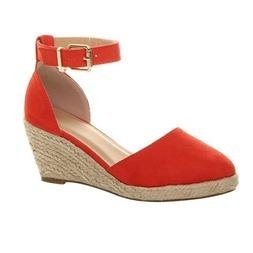 Women' Buckle Ankle Strap <font><b>Sandals</b></font> <font>