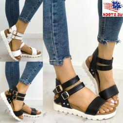 women peep toe wedge sandals ladies platform