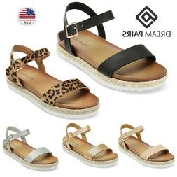 women s ankle strap sandals espadrille casual