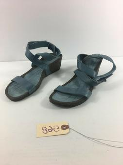 Teva Women's Blue Wedge sandals Size 9.5 #568