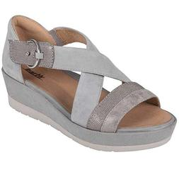 Women's Earth Hibiscus Wedge - TWO Color Options - FREE SHIP