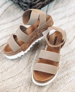 women s madyson wedge sandal two color