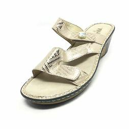 Women's NEW Alegria Loti Strappy Wedge Sandals Shoes Size 42