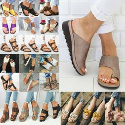 Women's Platform Sandals Espadrille Slippers Wedge Flip Flop