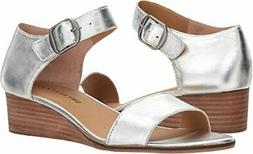 women s riamsee wedge sandal platinum size