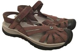 women s sandal size 10 cascade brown
