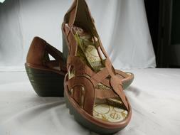Fly London Women's Size 7 , 38  Wedge Sandals. New In Generi