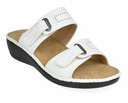 DREAM PAIRS Women Truesoft New Summer Low Platform Wedges Sl