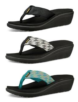 Teva Women's Voya Wedge Flip Flop Sandals #1019043