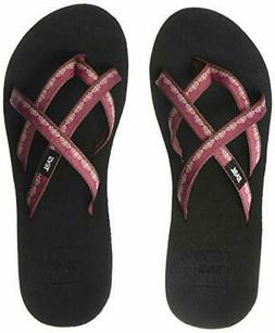 Teva Women's W Mush Mandalyn Wedge Ola 2 Flip-Flop - Choose