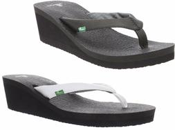 Sanuk Women's Yoga Mat Wedge Flip-Flop