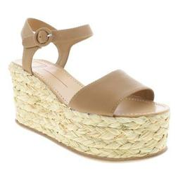 Dolce Vita Womens Dane Braided Espadrille Wedge Sandals Plat